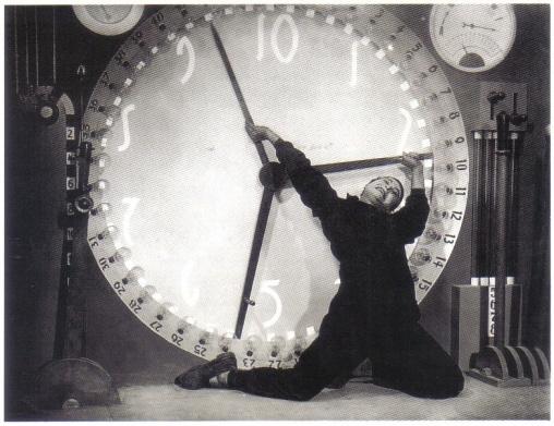 Metropolis clock